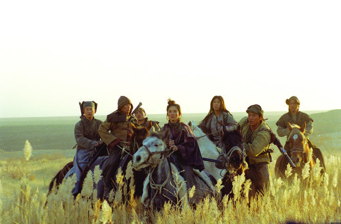Cảnh trong phim Thất kiếm (Seven swords) 2005