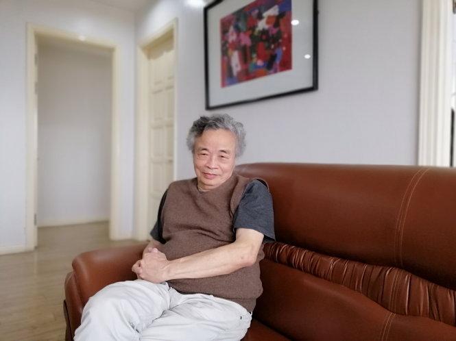 Dịch giả Hoàng Đăng Lãnh. Ảnh: Zét Nguyễn