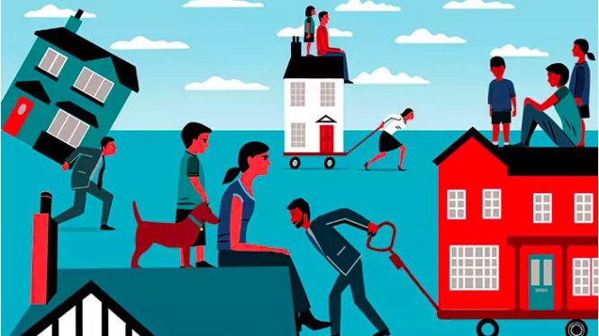 Có con là vấn đề nan giải với kinh tế gia đình trong thời suy thoái. Ảnh: bschool.cuhk.edu.hk