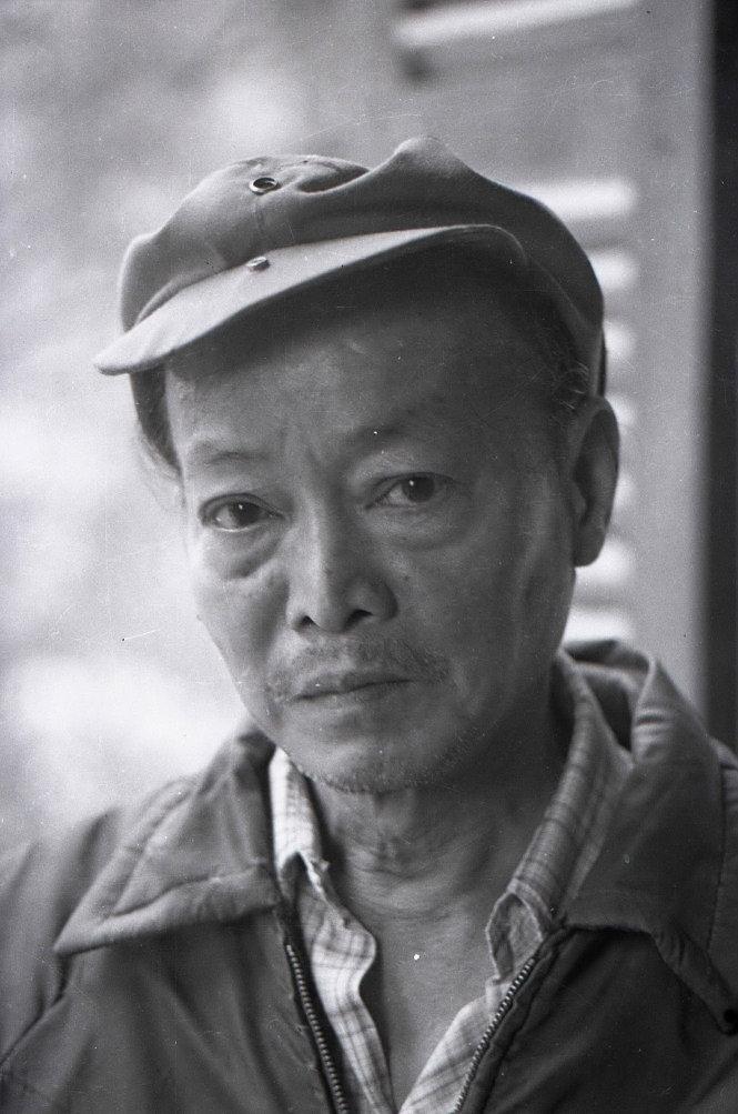 Chân dung họa sĩ Nguyễn Sáng