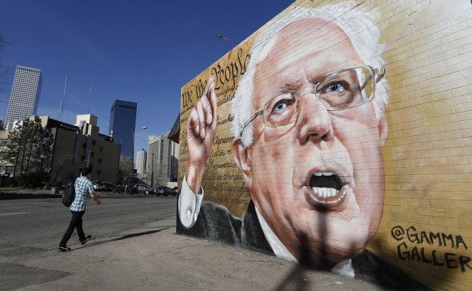 Ông Bernie Sanders đã trung thành với đường lối của mình 40 năm qua. Ảnh: AP
