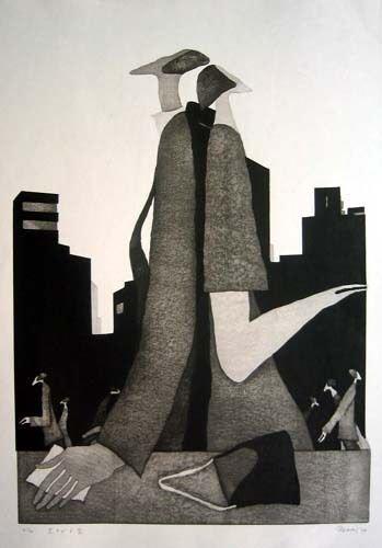 Tranh của họa sĩ Aoki Tetsuo