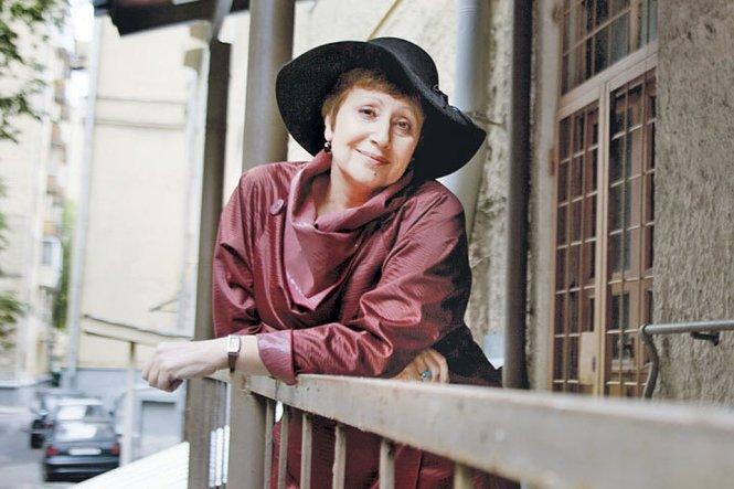 Nhà văn Dina Rubina. Ảnh: Kp Irkurtsk