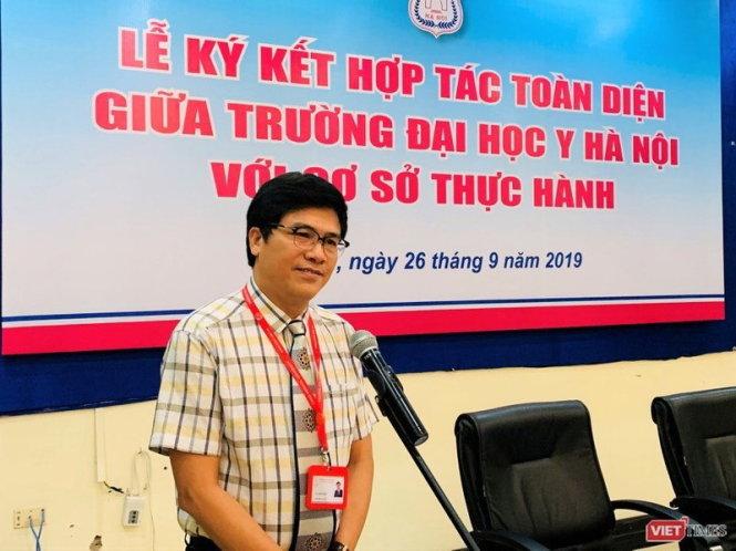 Ông Nguyễn Tuấn Hưng. Ảnh: Thùy Giang