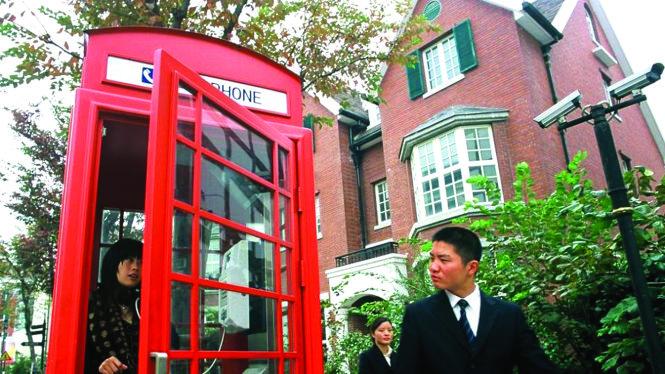 """""""Thị trấn Thames"""" ở Thượng Hải. Ảnh: BBC"""