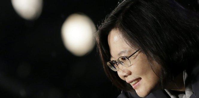 Bà Thái Anh Văn thắng cử nhờ sự ủng hộ của người trẻ và tình hình Hong Kong. Ảnh: EPA