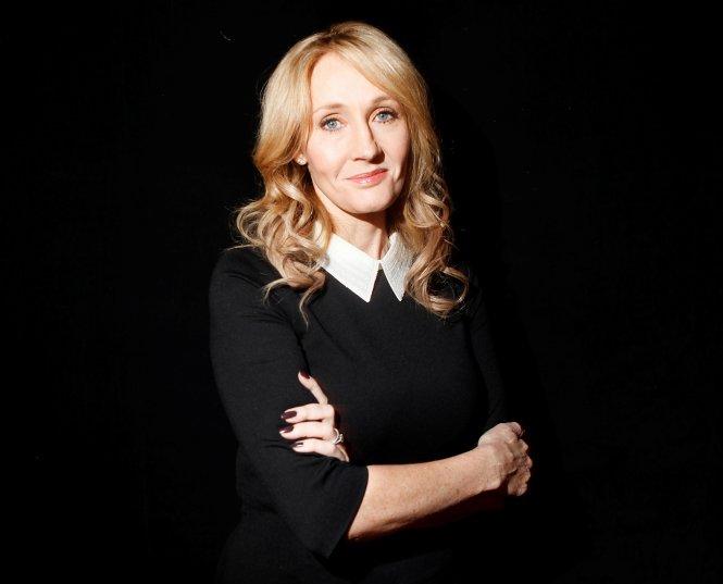 Nhà văn J. K. Rowling. Ảnh: Reuters
