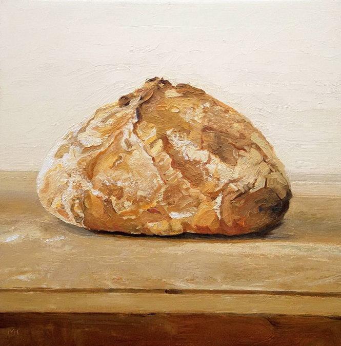 Bức tranh Bánh mì của họa sĩ Matthew Hopkins.