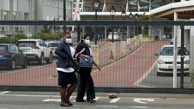 Bệnh viện St. Augustine, một bệnh viện tư nhân ở Durban, Nam Phi, nơi bùng phát một ổ dịch COVID-19 lớn. Ảnh: AP