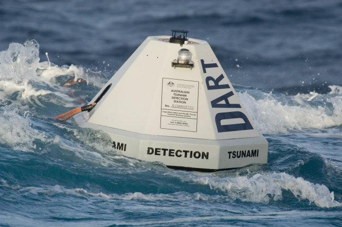 Thiết bị đo đạc đang trôi nổi khắp các đại dương trên thế giới để phát hiện sóng thần