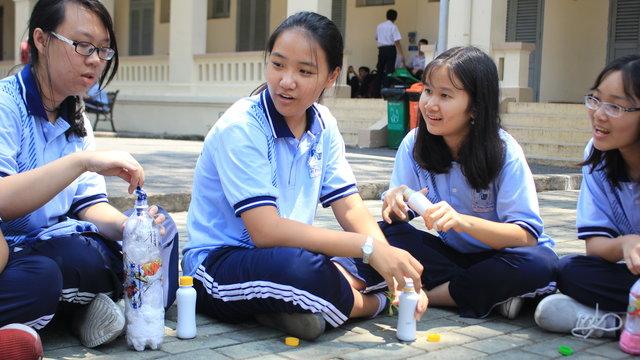Thử thách sống xanh của học sinh TP.HCM
