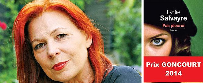 Tác giả Lydie Salvayre - Ảnh: vanityfair.fr
