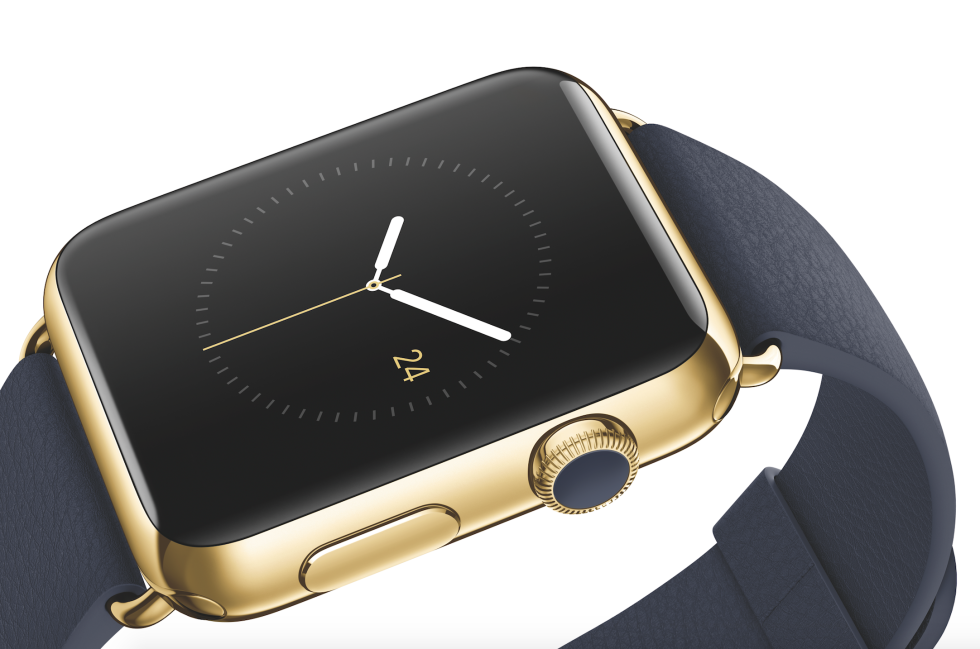 Apple Watch Edition vàng 18K - Ảnh: Apple