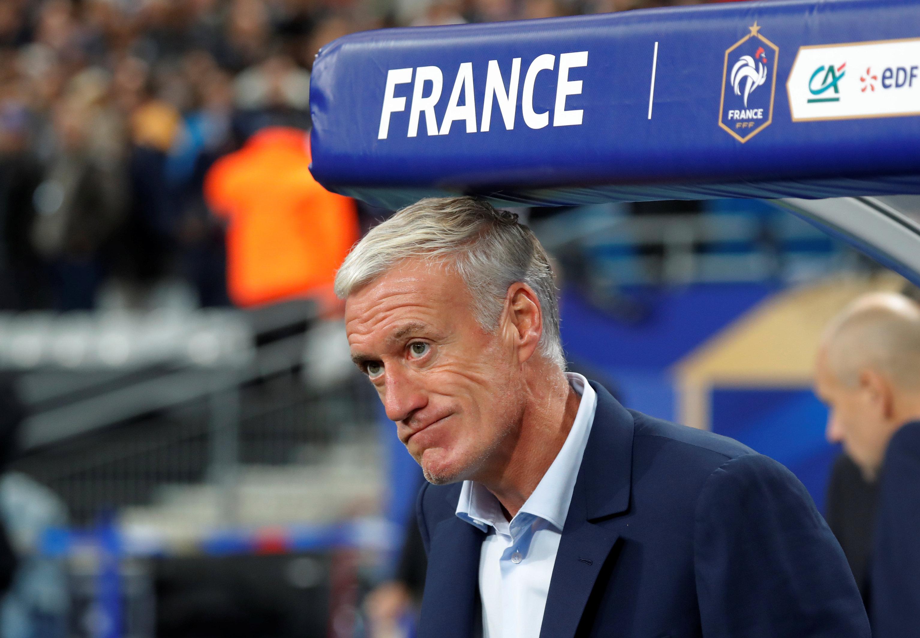 HLV Deschamps sẽ dẫn dắt tuyển Pháp đến năm 2020. Ảnh: REUTERS