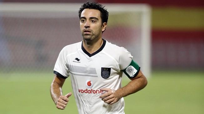 Xavi trong màu áo Al Sadd. Ảnh: GETTY IMAGES