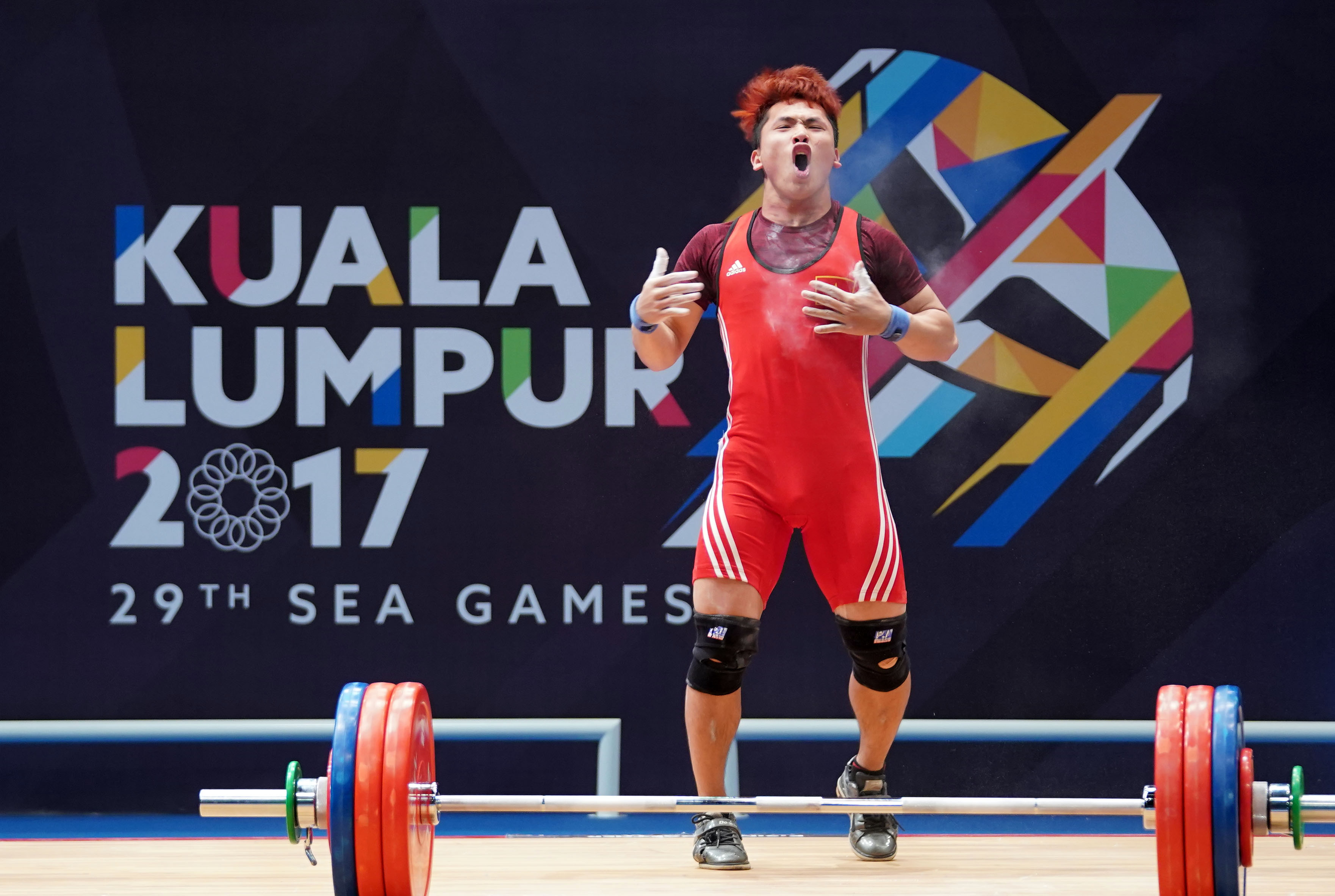 Trịnh Văn Vinh tại SEA Games 29. Ảnh: NAM KHÁNH
