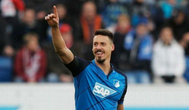 Wagner trong màu áo Hoffenheim. Ảnh: GETTY IMAGES