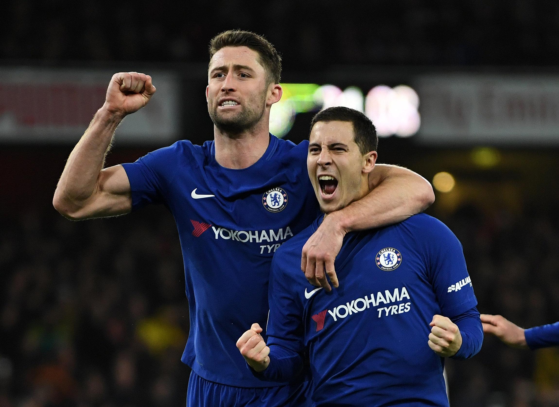 Bellerin giúp Arsenal cầm chân Chelsea ở phút bù giờ