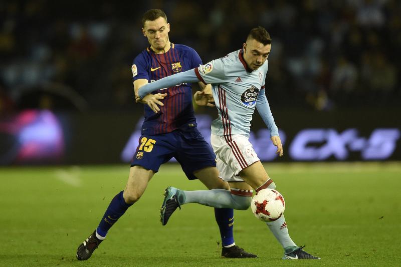 Aspas (phải) sẽ lại chọc thủng lưới Barca? Ảnh: Bleacher Report