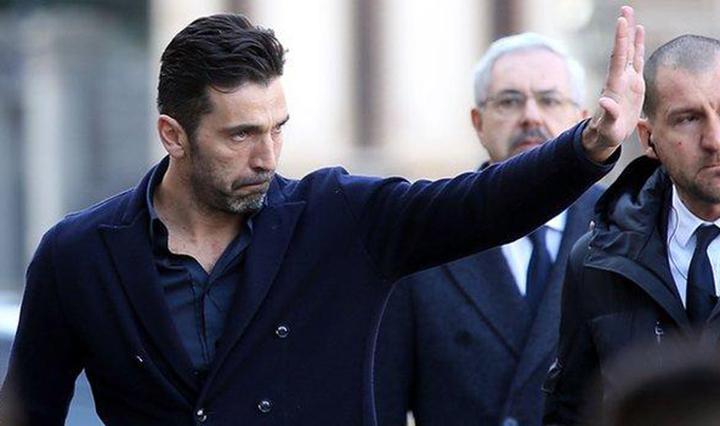 Thủ quân tuyển Ý và CLB Juventus Gianluigi Buffon. Ảnh: GETTY IMAGES