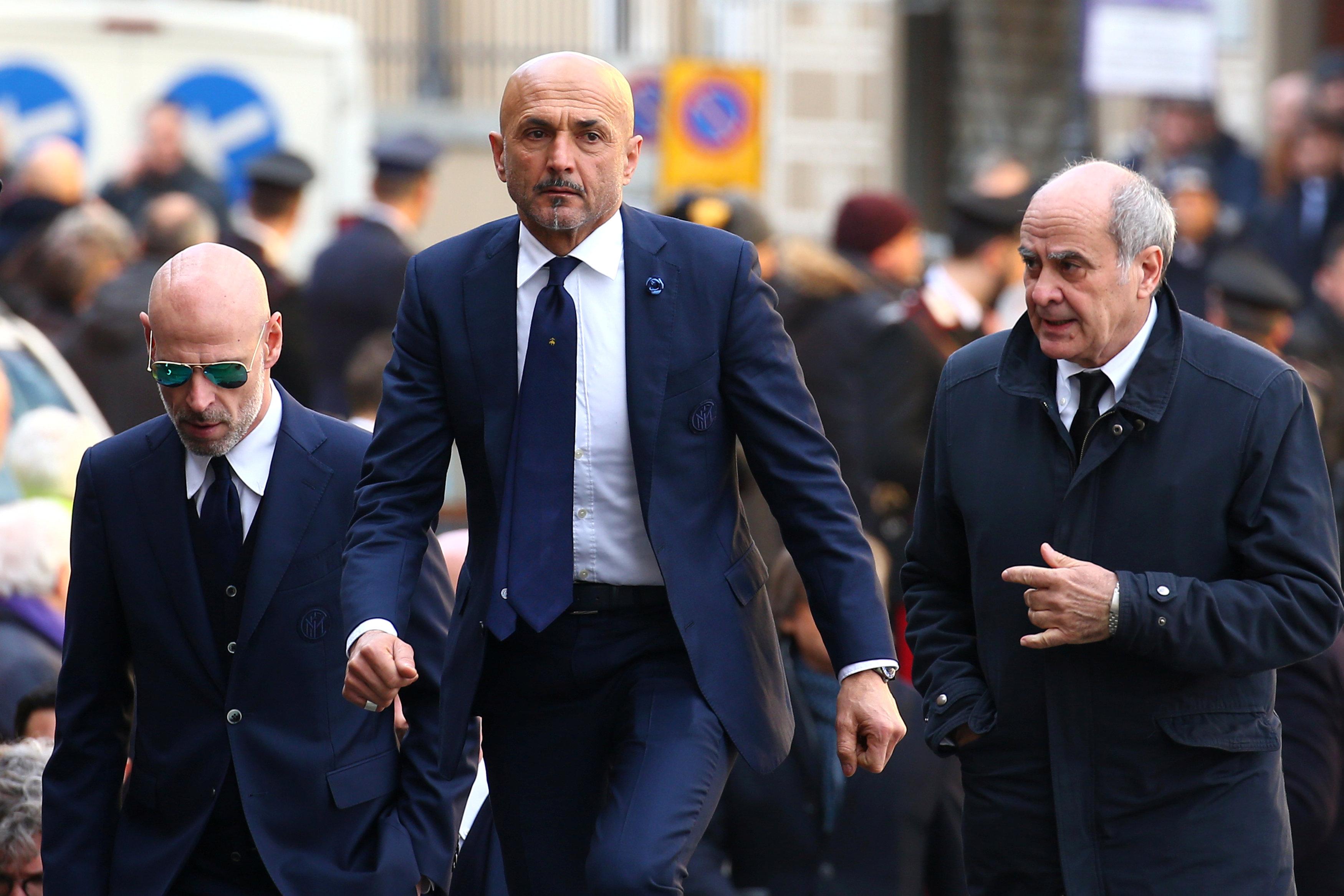 HLV Inter Milan, Luciano Spalletti. Ảnh: REUTERS