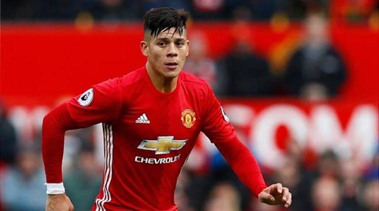 Marcos Rojo đã gia hạn hợp đồng với M.U đến năm 2021. Ảnh: GETTY IMAGES