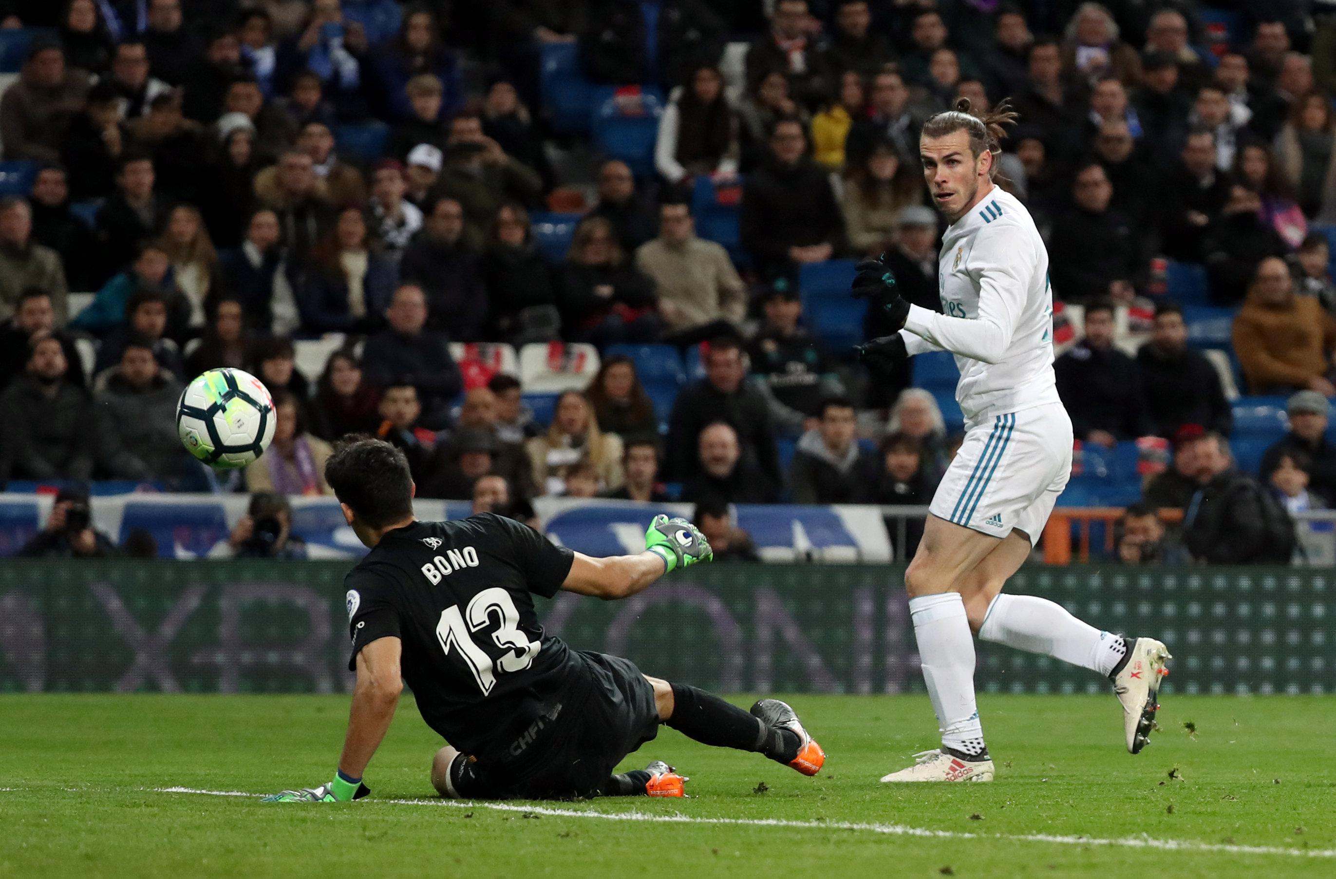 Bale sẽ không rời Real Madrid vào mùa hè tới. Ảnh: REUTERS