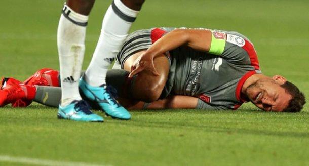 Msakni phải làm khán giả tại World Cup 2018 vì chấn thương. Ảnh: GETTY IMAGES
