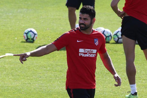 Costa trở lại là tin vui cho Atletico. Ảnh: GETTY IMAGES