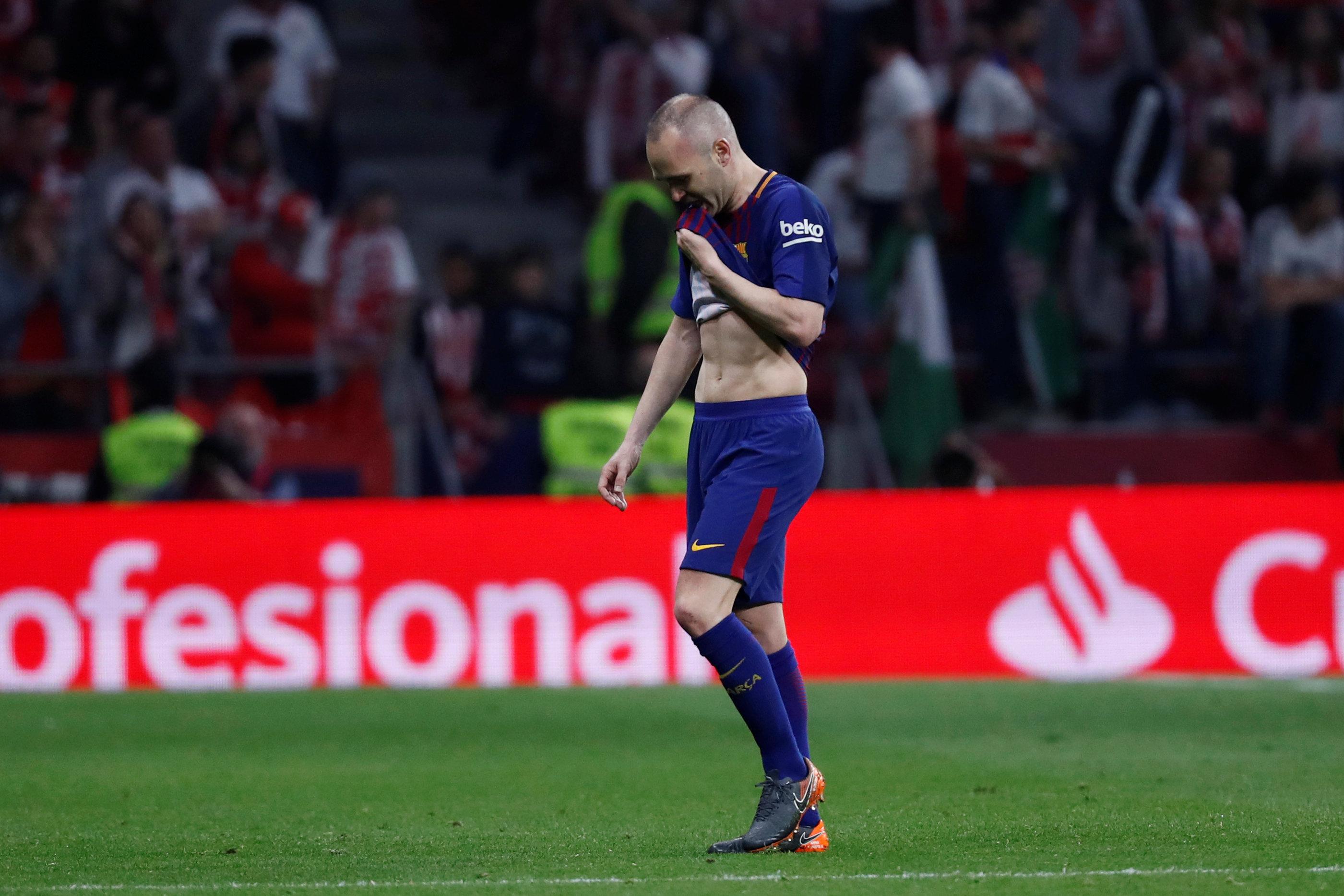 Iniesta nhiều khả năng lỡ hẹn với trận